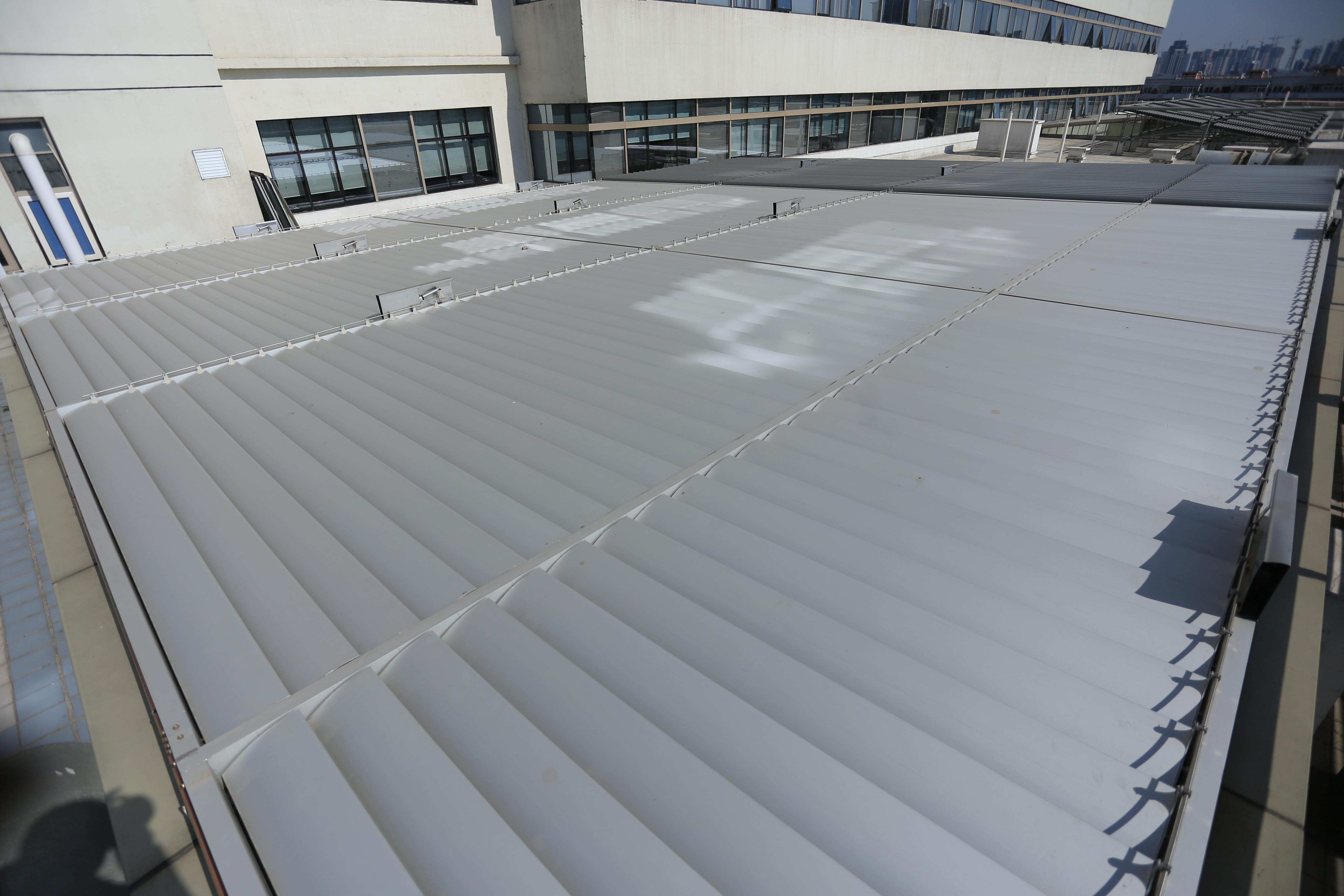 人民医院顶棚遮阳工程申请市建委节能项目