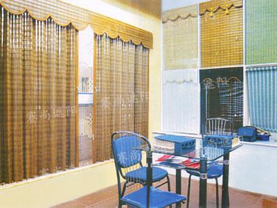 适用:如果窗户比较多而面积又不是很大,比较适合用竹质卷帘