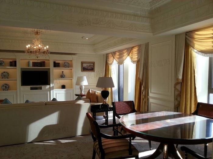 丽斯卡尔顿酒店电动窗帘图片