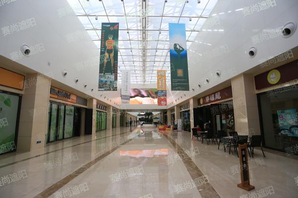银河地下商业广场站顶部遮阳工程